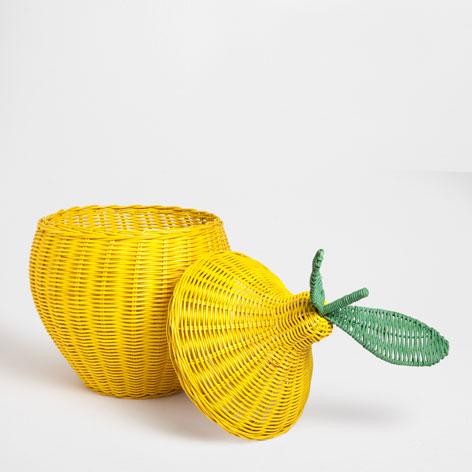 Cesta limón en Zara Home