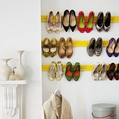 Shoe Storage - Apartament Therapy